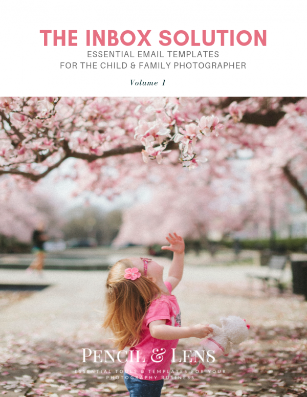 essential email templates for child and family portrait photographers