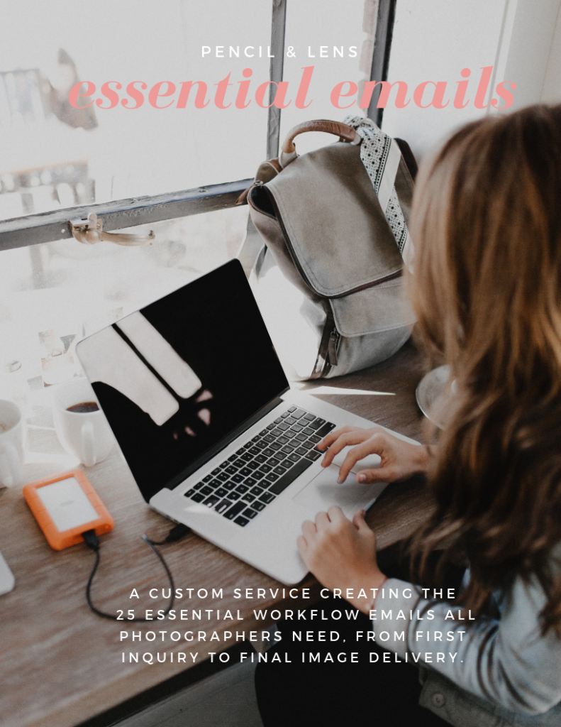 essential emails for photographers