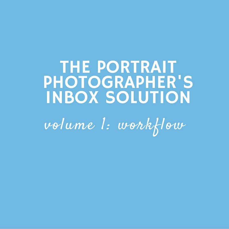 The Portrait Photographer's Inbox Solution: Volume 1