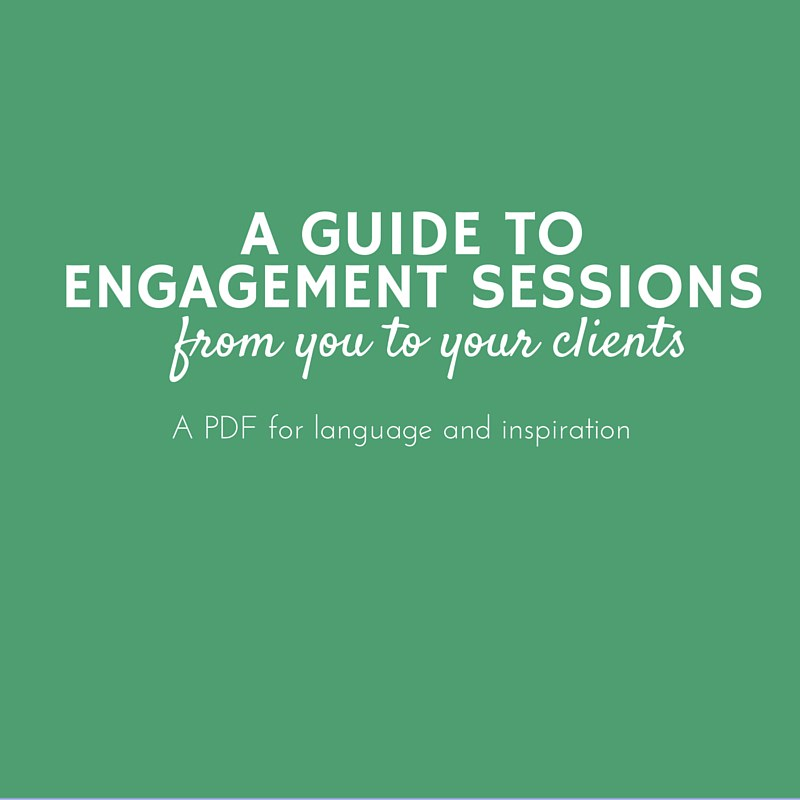 A Guide to Engagement Sessions (PDF only)