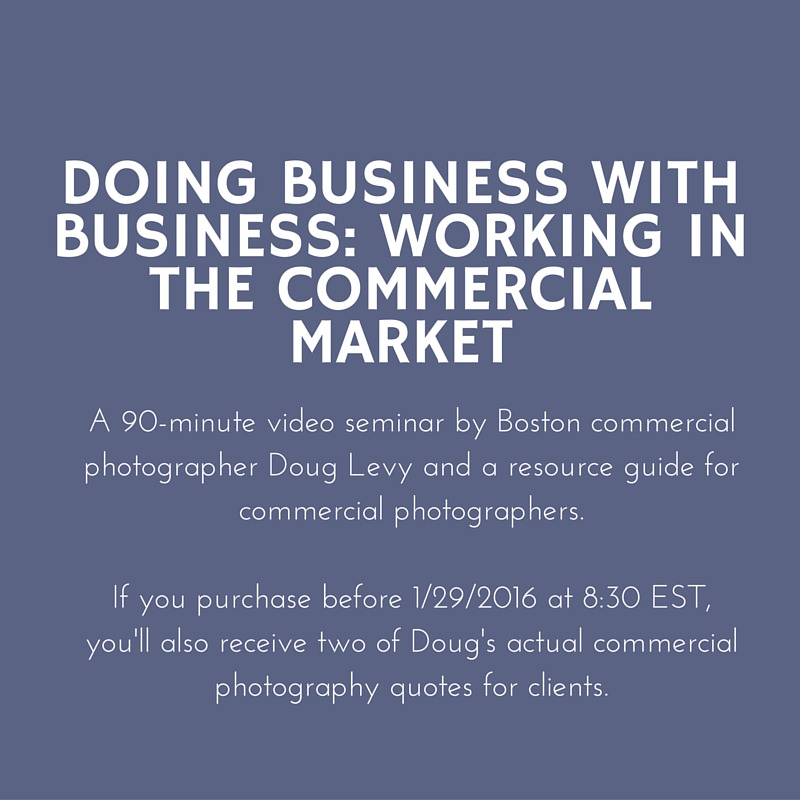 Doing Business with Business: Working in the Commercial Market
